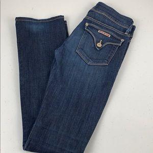Hudson Straight Leg Jeans Size 25